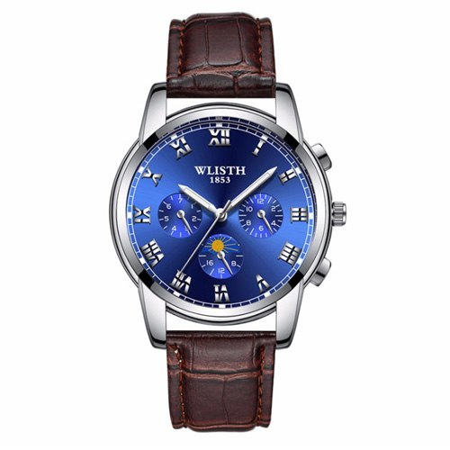 Costbuys  Wristwatch male watch watch for men's watches and watches in Mens/Womens Quartz Watches - 509 9 brown