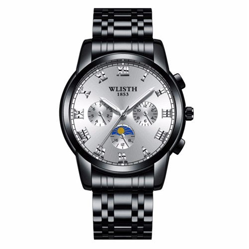 Costbuys  Wristwatch male watch watch for men's watches and watches in Mens/Womens Quartz Watches - 509 12 silver