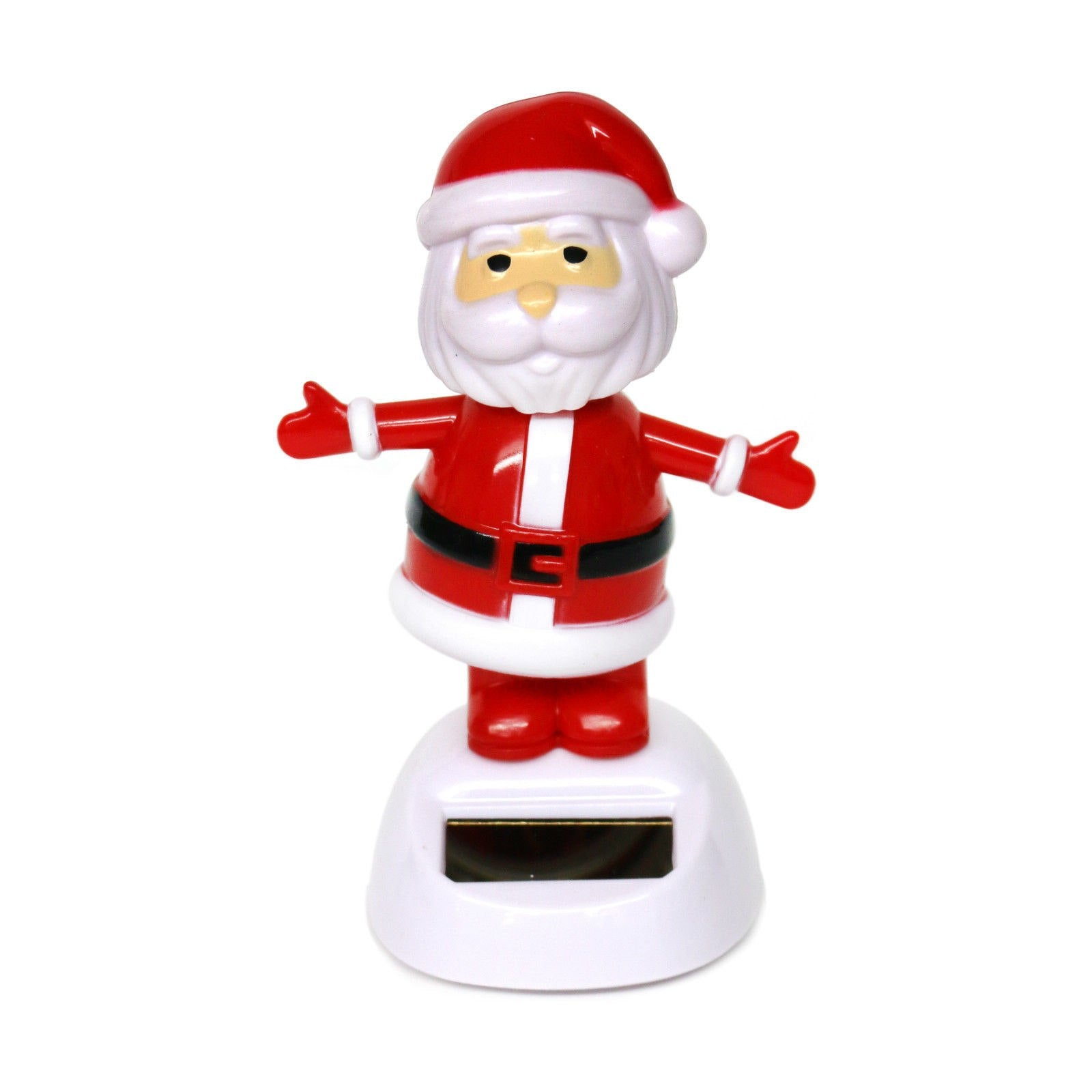 Costbuys  Xmas Types Cute Solar Powered Dancing Toys For Table Desk Home Car Christmas Decor New Lovely Toys - Color 7