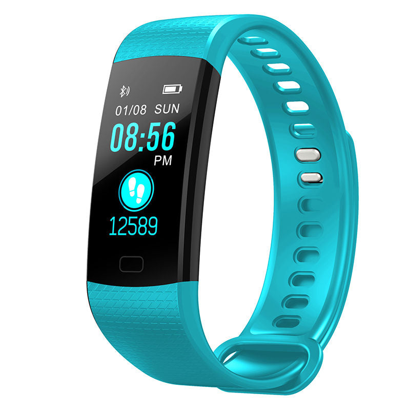Costbuys  Fitness Tracker Smart Bracelet Silicone Band Waterproof Sport Watches for Men Women Fashion Colorful Wristband Gift -