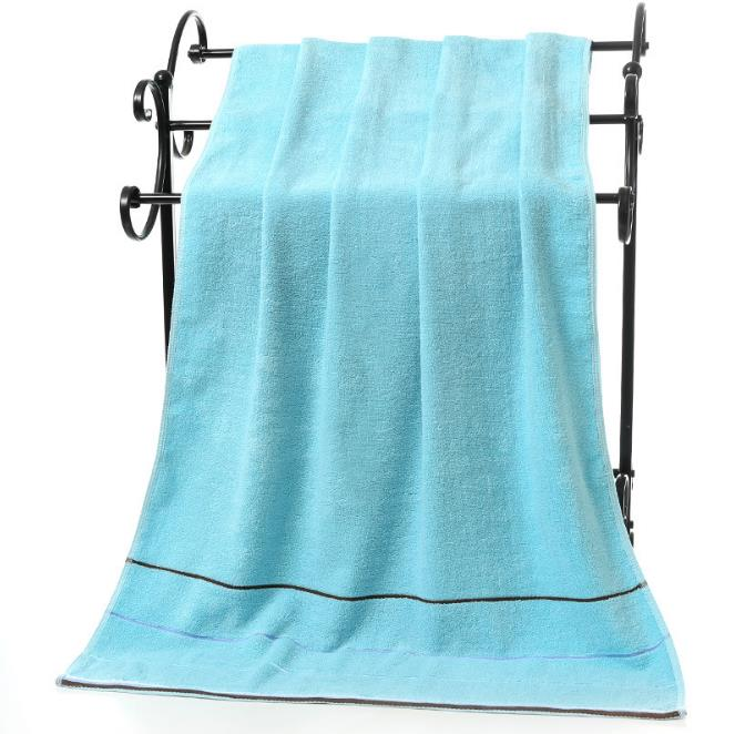 Costbuys  3pcs/set Lovely and attractive Cotton Beach Towel Stripe Face Hand Bath Cloth Bathroom Absorbent Home Gift Bathroom To