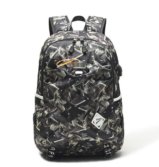 Costbuys  Men Backpack Travel USB Charge School Bags For Teenagers Designer Laptop Backpack Student College Large Backpack Women