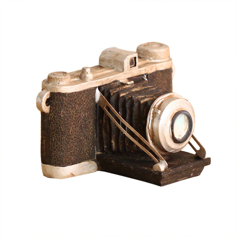 Costbuys  Zakaka SLR Camera Home Decor Figurines Retro Resin Seagull Camera Desktop Decor Crafts Office Display Make Old  Figuri
