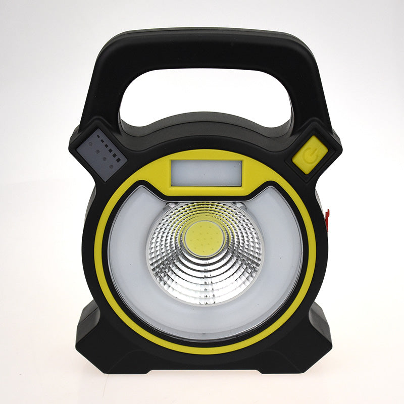 Costbuys  15W COB LED Portable Floodlight Lantern Outdoor Waterproof 4-Mode Emergency Spotlight Lamp for Camping Hiking Tent Lig