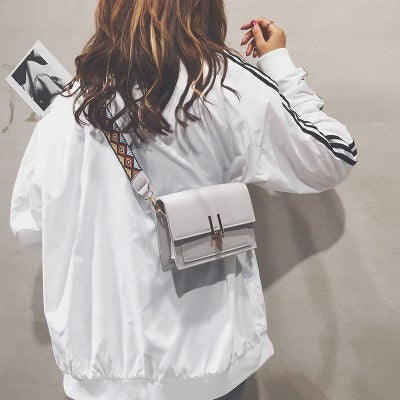 Costbuys  high quality pu Female bag women Shoulder Bags women's handbags Clutch Evening Bags Messenger Bag Small Wide shoulder