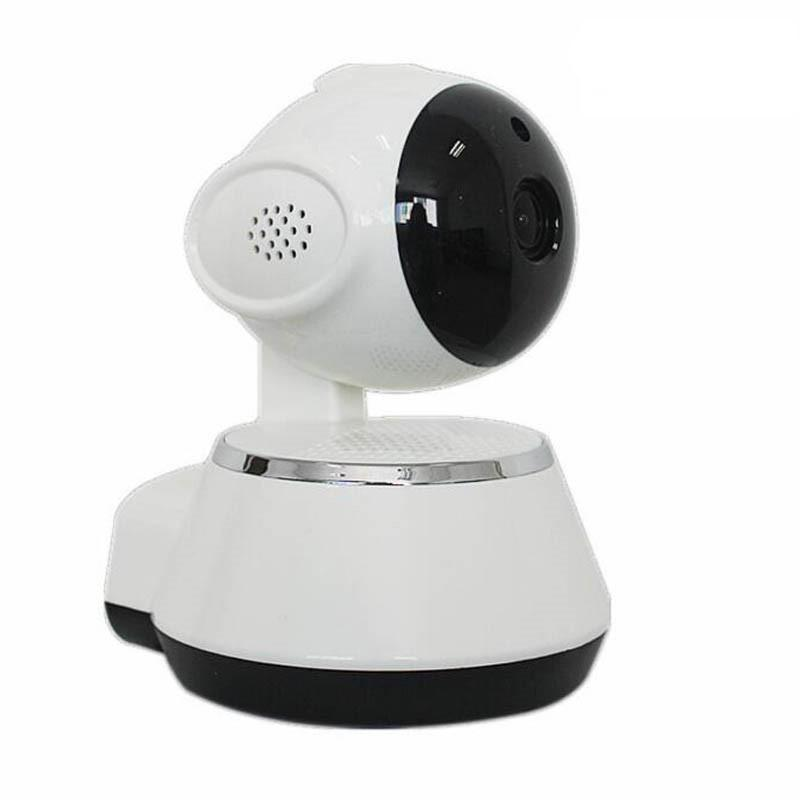 Costbuys  Wifi IP Camera 720P Night Wireless Smart Mini Home Camera Vision 2-Way Audio Webcam Video Monitor - White