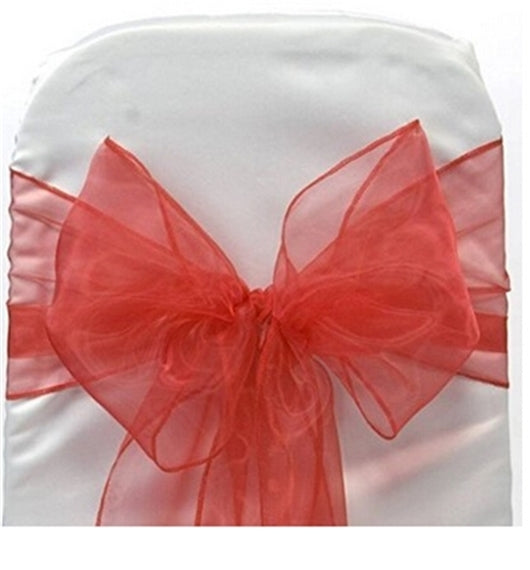 Costbuys  length:2.6m width:17mm DIY Wedding Organza Chair Cover Sashes Bow Sash Banquet Party Event Xmas Decor,10Y47606 - 10Y47