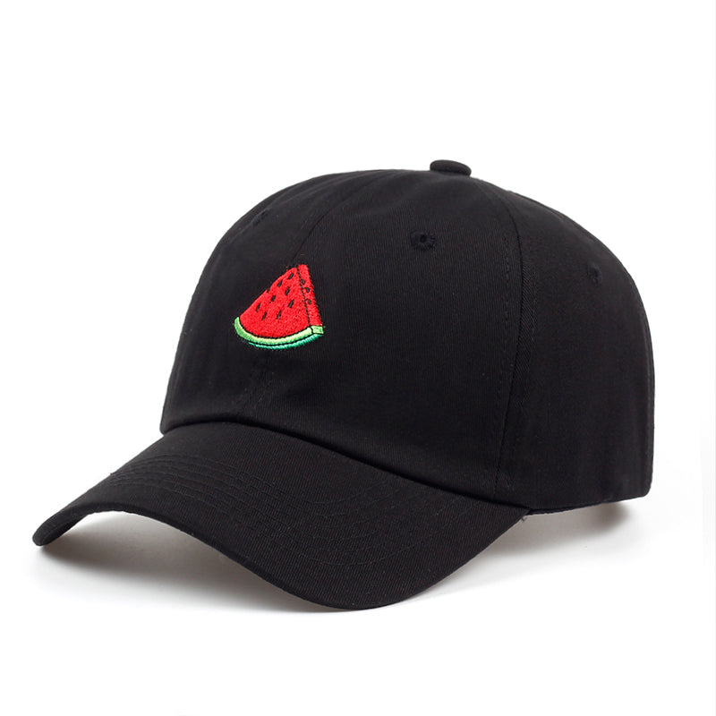 6e0635afdff Summer Baseball Cap Men Women Watermelon Embroidery Dad Hat Hip Hop Sn –  Costbuys