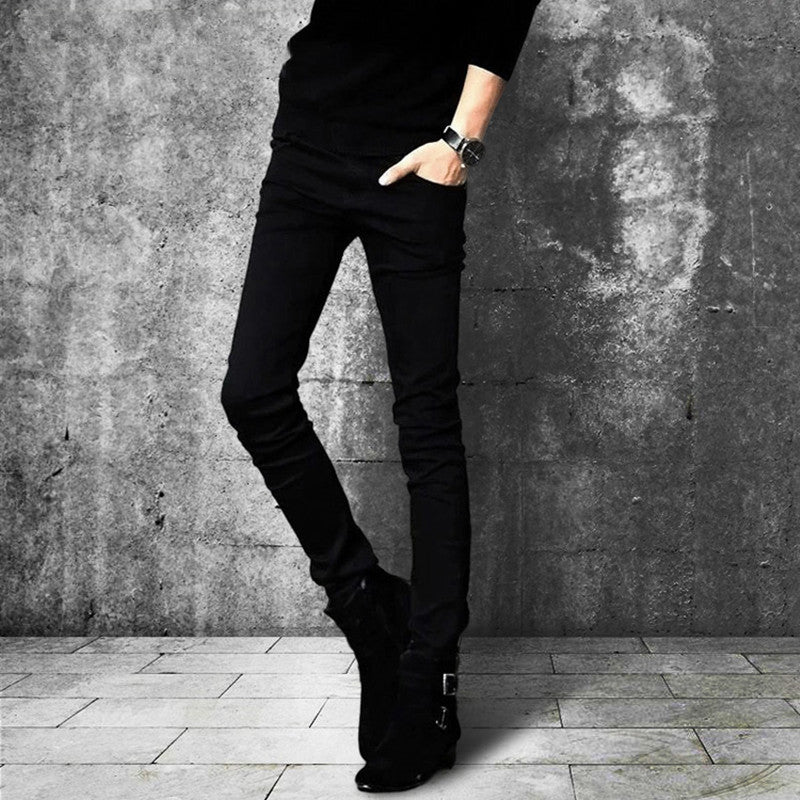 b32a7bb82aa summer jeans men skinny stretch jeans men tight slim jeans men fashion –  Costbuys
