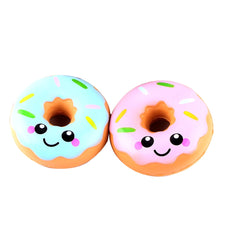 oyuncak squishy novelty antistress 11cm Lovely Doughnut Cream Scented Squishy Slow Rising Squeeze Toys Collection funny gift Novelty & Gag Toys