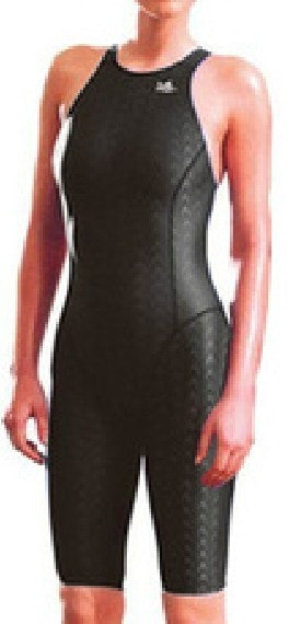 Professional swimming women knee Swimsuit Sports Competition Tight full body Bathing Suit