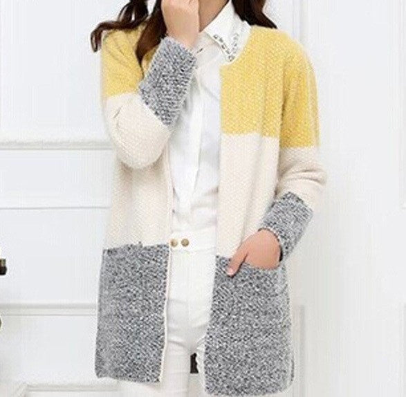 Hot Women Sweaters Autumn Winter Casual Cardigan Fashion Knitted Solid Slim Lovely Sweaters Elegant Candy Colors Cardigans