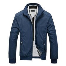 2016 New Arrival Spring Men's Solid Fashion Jacket Male Casual Slim Fit Mandarin Collar Jacket 3 Colors M-5XL