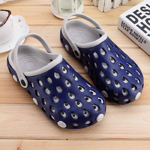 Summer nest breathable garden shoes fashion mules clogs weight loss swing shoes couple beach sandals shoe men women Slipper