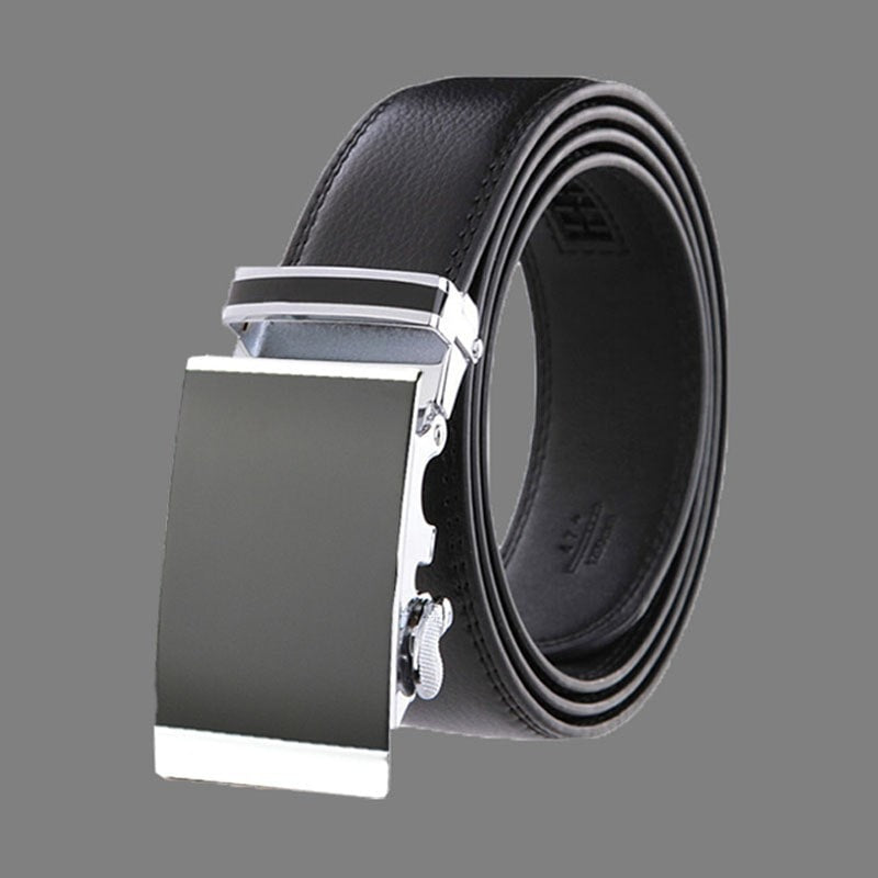 Genuine Leather Designer Belts for men automatic buckle Leather belt men's belts male waistband ceinture,cinto masculino