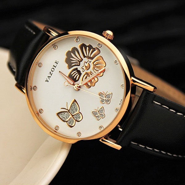 Wrist Watch Women Ladies Brand Famous Female Wristwatch Clock Quartz Watch Girl Quartz-watch Montre Femme Relogio Feminino