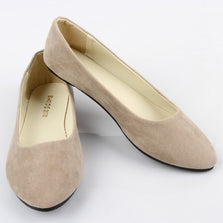 2016 Fake Suede Ladies Shoes Ballet Flats Women Plus Size Flats Casual Shoes Ballerina Black Flats Zapatos Mujer Daily Shoes