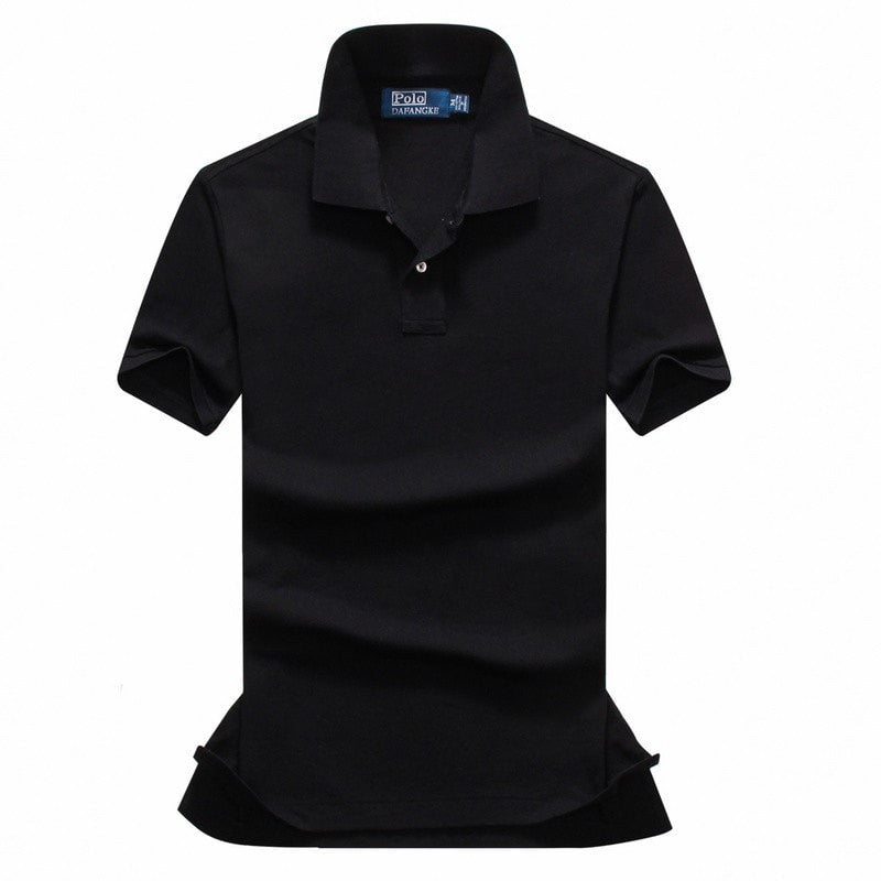 High Quality Men Polo Shirts Cotton new Summer Short Sleeve Business Casual Men Luxury Brand Shirts Plus Size XS-XXL
