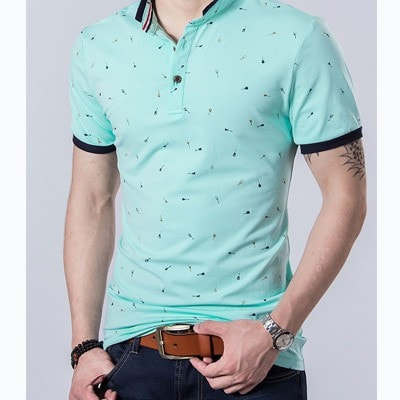 New Fashion Mens polo shirt Brands Cotton short-sleeve Polo homme Casual Slim Breathable Fitness Men polo shirt