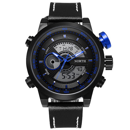 Costbuys  Montre Homme Waterproof Sport Digital LED Watches Men Analog Digital Watch Brand Men Luxury Quartz Wristwatch Men Spor