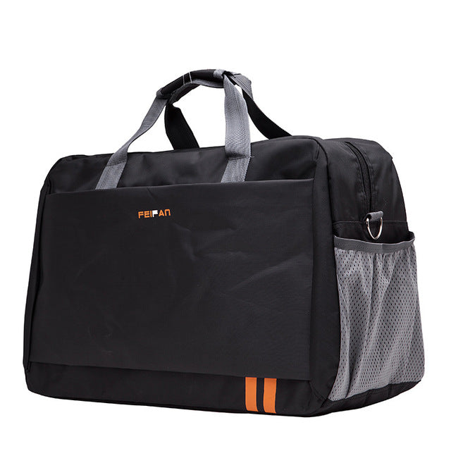 Costbuys  New Style Men Travel Bags Large Capacity Luggage Bags Waterproof Travel Totes Bags - black small