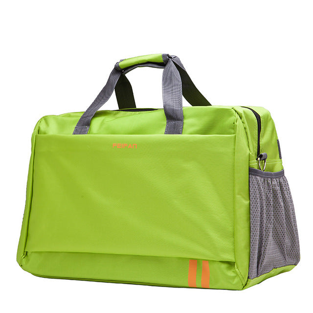 Costbuys  New Style Men Travel Bags Large Capacity Luggage Bags Waterproof Travel Totes Bags - green small