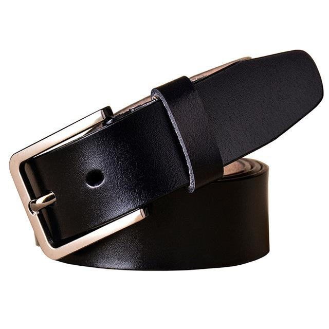 Costbuys  New Fashion Cow Genuine leather belts for women Luxury belt woman Designer High quality Pin buckle strap Brand girdle
