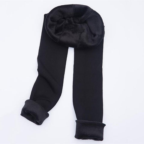Autumn Winter Fashion Explosion Models Plus Thick Velvet Warm Seamlessly Integrated Inverted Cashmere Leggings warm pants