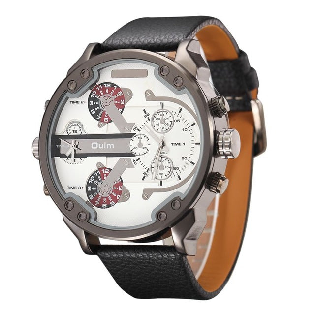 oulm full designer men heavy watch brand male quartz big exaggerated product watches luxury large detail unique