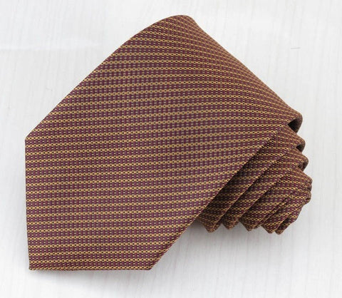 new style design two color stripe pattern business high-end fashion boutique men necktie special price sell like hot cakes