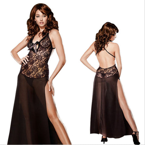 100% good quality 40-58kg sexy women sleepwear lace nightgown lace nightwear women sleepshirts lingerie women home clothes