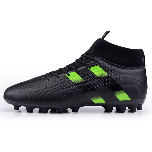 Costbuys  Original Superfly football boots man Football Shoes with ankle soccer boots footbal shoes sock size 38-45 Sneakers - B