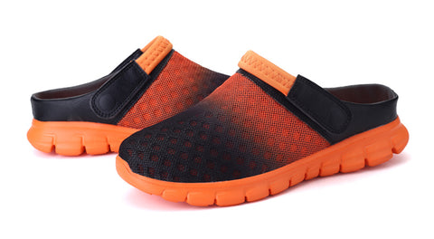 Summer Men Sandals Breathable Mesh Male Sandal Summer Beach Men Shoes Water Male Slippers Fashion Slides Cheap Shoes