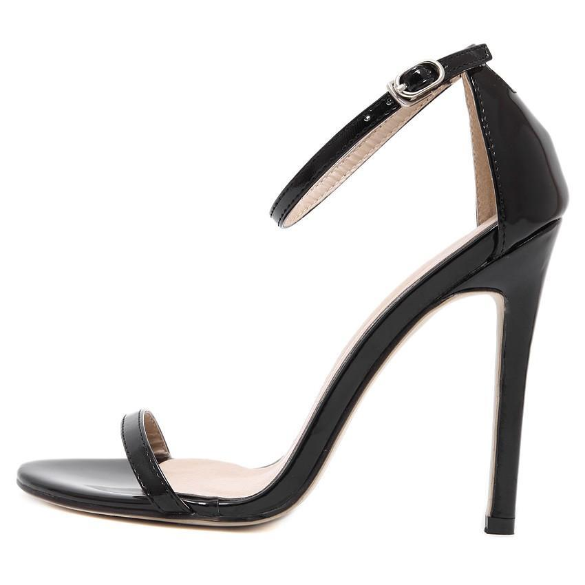 New summer women high heels sandals shoes woman party wedding ladies pumps  ankle strap buckle stilettos sexy shoes