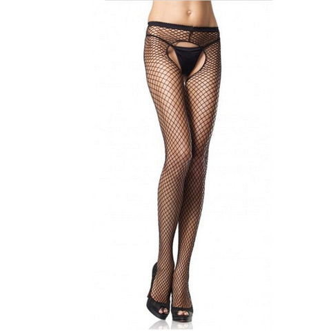 Sexy Stockings Open Crotch Pantyhose Women