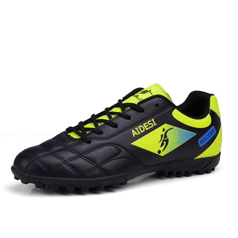 8b85f485e Football Shoes Soccer Boots For Men Soccer Cleats Turf Shoes Leather Soccer  Trainer Boys Soccer Sneaker
