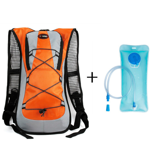 Costbuys  Outdoor Climbing Hiking Camelback Water Bags Hydration Vest Pack Cycling Backpack Water Bag 2L Bladder Camping Rucksac