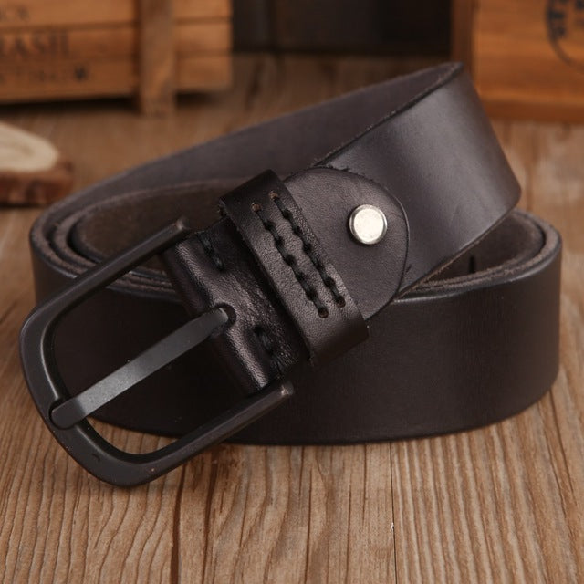 Vintage Mens Belts Luxury disigner strap women High Quality 100% real Genuine Leather girdle brown green Jeans camel coffee