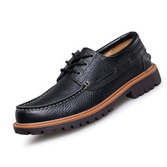Handmade genuine leather men shoes, Men Flats shoes, business dress shoes,Men oxford Formal Shoes