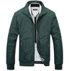 Autumn Coats Men's Jackets Casual Solid Men's Outerwears Slim Fit Male Bomber Jackets Brand Clothing