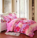 20 colors Pastoral Floral printing 3/4pc Bedding Sets Twin Full Queen size for Home Hotel Bed Linen Bed Sheets Duvet Cover