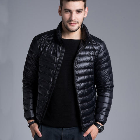 New Arrival Brand Men Sleeveless Jacket Winter Casual Down Vest Cotton-padded Slim Men's Vest Thickening Waistcoat