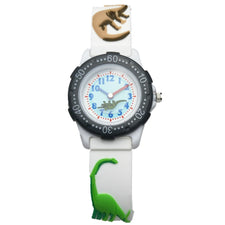 Children Watch Cartoon Dinosaur Silicone Watchband Dragon Design Student Kids Watches Boy Girls Fashion Quartz Wristwatch
