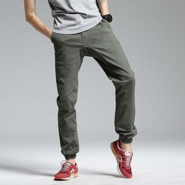 c2f8b27b374 Autumn and Winter Pants Men Top Fashion Pantalon Homme Cargo Mid Strai –  Costbuys