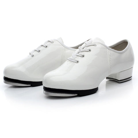 Mens Shoes Casual Tap Dance Shoes Lace-up Dancing Shoes for Men Sports Dancing Sneakers Men's Ballroom Tango Latin Dance Shoes