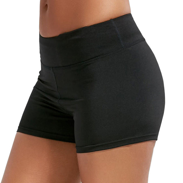 27231e530e ... X-Large; New Workout Sporting Shorts Women Summer Elastic Waist Casual  Quick Dry Gym Yoga Shorts Female Fitness ...