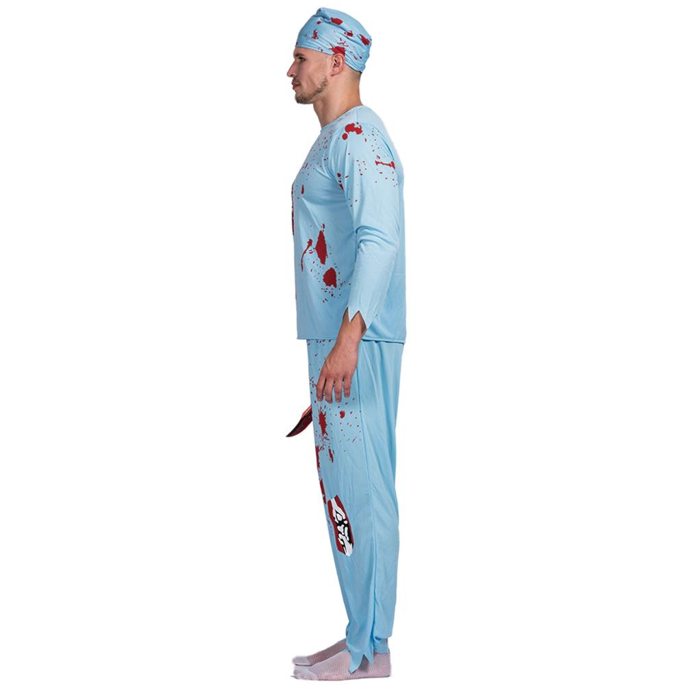 Men Walking Dead Doctor Zombie Bloody Surgeon Costume Carnival Party Adult Male Outfits Scary Bone Physician  sc 1 st  Costbuys & Men Walking Dead Doctor Zombie Bloody Surgeon Costume Carnival Party ...