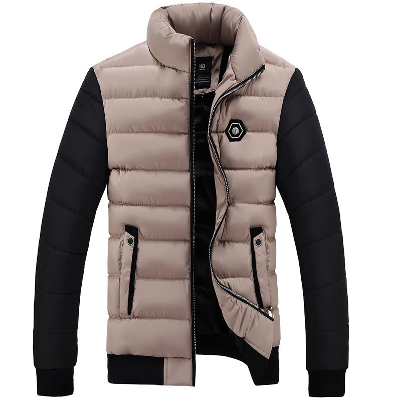 721beaff98a9e New winter jacket Men thicker Parkas Fashion two color Design Stand Co –  Costbuys
