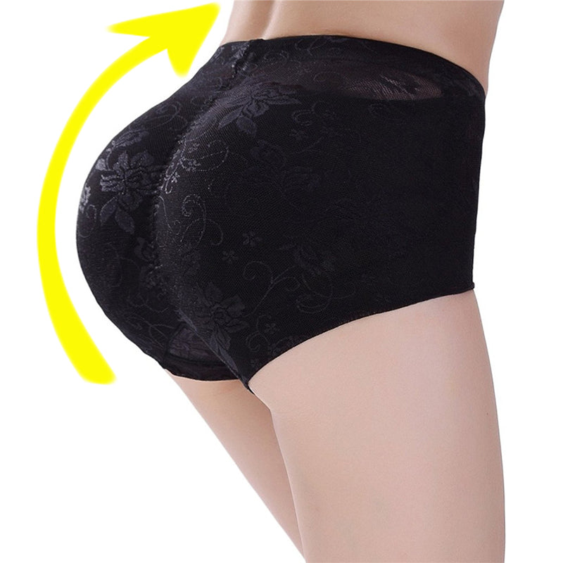 edd2c37277b Padded Pants Shaper Seamless Fake Ass Pads Panties Buttocks Push Up  Lingerie Women Underwear Butt Up