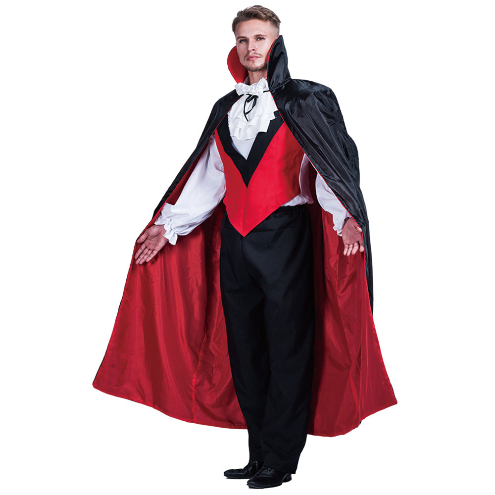 Black V&ire Man High Quality Stand Collar Dead Cosplay Party Wear V&ire Costumes Halloween Cloak Long Adult Costumes  sc 1 st  Costbuys & Black Vampire Man High Quality Stand Collar Dead Cosplay Party Wear ...